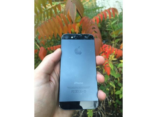 iPhone 5 16gb Black - 6/8