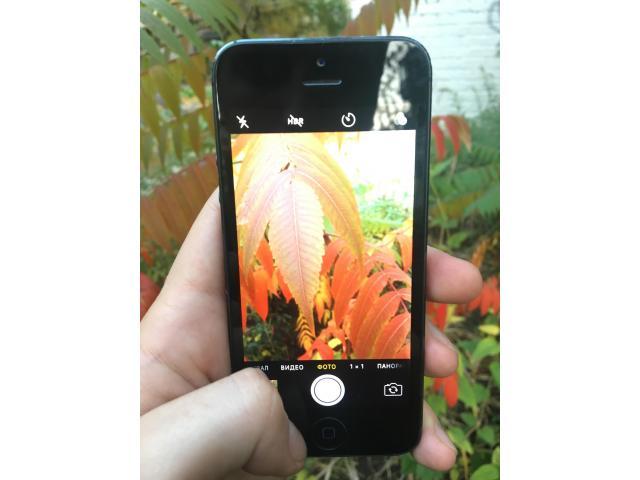 iPhone 5 16gb Black - 7/8