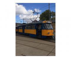 Трамвай Татра Т3 модернизированный в отличном состоянии из Германии.