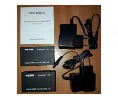 Удлинитель HDMI по одной витой паре САТ5е/6 до 60 м