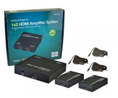 Сплиттер HDMI 1 на 2 с приемниками в комплекте, до 50