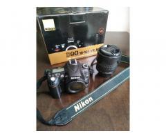 Продам Nikon D90 body + Nikkor 18-105